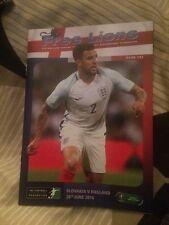 Free Lions - England v Slovakia -Euro 2016 1st Round  20.06.2016 Issue 147