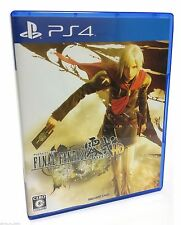 Final Fantasy Type-0 HD Zero PS4 Square Enix Japanese RPG Import Game