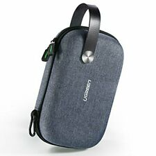 Portable Electronics Accessories Travel Carry Hard Case Cable Tidy Storage Box