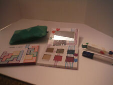 TETRIS IPSY BLOCK PARTY Eye Shadow Palette, Lip Gloss Matrix, & Green Bag