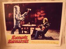 "1958 ""Satan's Satellites"" Lobby Card #4 11 X 14 Sci Fi Horror"