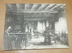 sCHMIEDE ○ Foto ○ 23,5  x 18 cm ○ vermutlich um 1935 ○ Amboss ○ Esse ○ Handwerk
