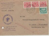 German Postal History Stamps Cover Ref: R4598