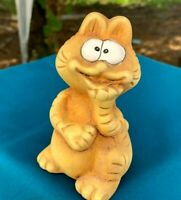 "VERY RARE Vintage Collectible Ceramic Garfield 4"" Figure Figurine"