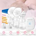 Portable Electric Double Breast Pump Comfort Breastpump Mom Milk Extractor USB