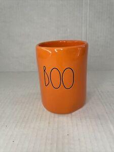 NEW Rae Dunn Halloween Orange BOO Candle 👻🎃8.7 oz. Scent: Pumpkin Pie