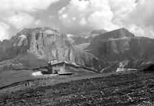 Italy Col Rodella Rifugio des Alpes Gruppo Sella Mountain