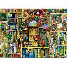 1000 pcs Ancient Bookshelf Jigsaw Puzzle Puzzles Educational Decompression Toy