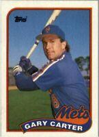 1989 Topps baseball Gary Carter #680 lot of 100 Mint cards