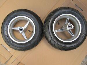 NEW MINIMOTO MINI MOTO BIKE WHEELS & TYRES 110/50-6.5 REAR & 90/65-6.5 FRONT