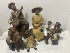Sarahs Attic Limited edition African American Family Figurines