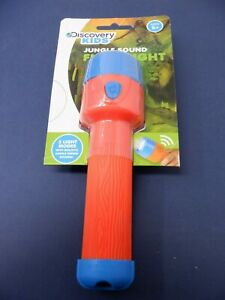 Jungle Sound Flashlight  Discovery Kids  New OOP Rare  GM2503