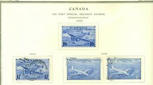 Stamp  Canada Air Post Special Delivery 1942