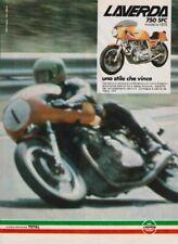advertising Pubblicità brochure-MOTO LAVERDA 750 SFC '75-MAXIMOTO-MOTOITALIANE