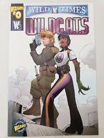 WILD TIMES: WILDCATS #0 (1999) WILDSTORM WIZARD COMICS TRAVIS CHAREST COVER ART!