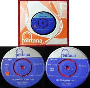 Single Marty Robbins & Ray Conniff: The Story of my Life (Fontana 263 000 TF) NL