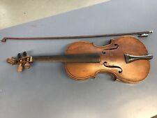 Antique German 4/4 Conservatory Violin By Richard Meierhof MarkneukIrchen w/bow