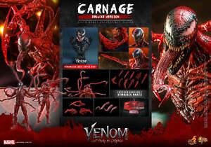 Hot Toys Venom Let There Be Carnage 1/6 Carnage (Deluxe Version) Figure MMS620