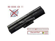 Generic 6cell Battery for SONY Vaio VGN-TX FW CS VGP-BPS13/S VGN-SR black