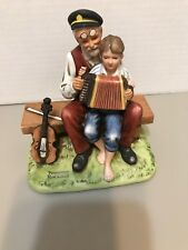 1980 Norman Rockwell Figurine The Music Lesson