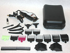Wahl Clippers adjustable hair cutting stylist salon guards set MC2 trimmers lot