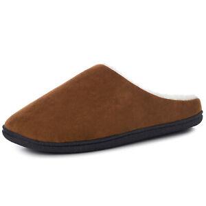 Alpine Swiss Mens Memory Foam Clog Slippers Indoor Comfort Slip On House Shoes