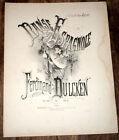 danse espagnole Op.104  partition piano 1880 Ferdinand Dulcken
