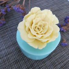 HC0092 3D molds rose flowers silicone soap mold gift handmade resin mold