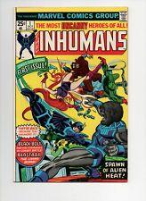 Inhumans #1 1st series 1975 Marvel Bronze key very fine- 7.5 $1 start!