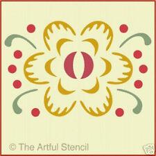 FLOWER 1  STENCIL  - The Artful Stencil