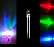 Lot 200 PCS 5MM RGB Red Green Blue Fast Changing Color Flash LED Lamps Rainbow