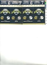 Pittsburgh Panthers Football vs Miami 11/29/2013,  2 Tickets
