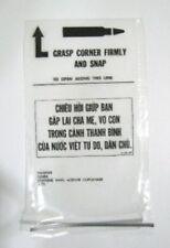Us Army Vietnam War Era Chieu Hoi Surrender Pass Pouch Bag Authentic Collectors