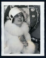 SILENT STAR GERTRUDE OLMSTEAD - OVERSIZE 11X14 DBLWT PHOTO BY LOUISE - LARGE SIL