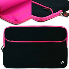 "15"" 15.4"" 15.6 inch Ultrabook Laptop Notebook Carrying Bag Sleeve Case Pink"