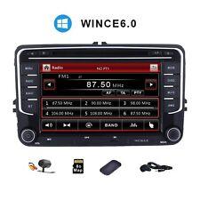 "VW Golf MK5 MK6 Passat Touran Tiguan 7""Car GPS Stereo SATNAV DVD Player + Camera"