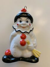 Collectible Goebel Christmas Ornament: Clown. Free Shipping!