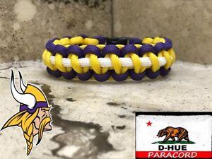 Minnesota Vikings Paracord Bracelet