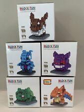 Set of 5 iBlock Fun Diamond Block Sets - New 9138, 9137, 9139, 9143 & 9141 open