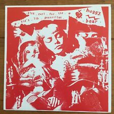 "Huggy Bear - Kiss Curl  7""  Vinyl Ep"