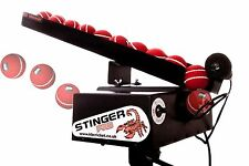StingerPro Cricket Bowling Machine With Remote Auto-Feeder