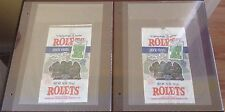 TMNT ROLETS PORK RINDS RARE TEENAGE MUTANT NINJA TURTLES MOVIE 1990 PROMOTION