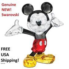 Swarovski Disney Mickey Mouse #1118830 Color Crystal Figurine NEW in Gift Box!