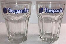 Hoegaarden Belgian Lager Beer .33 Liter Beer Mug (Set of 2)