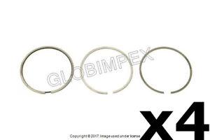 VOLKSWAGEN Passat 2.0L L4 (2004-2005) Piston Ring Set Standard 81 mm (4) MAHLE