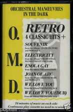 ORCHESTRAL MANOEUVRES IN THE DARK - O.M.D. RETRO 1986 UK CASSETTE VIRGIN VSC 911