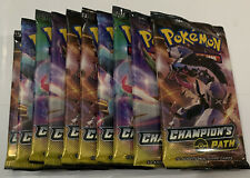 10X Pokemon Champion's Path Booster Packs FACTORY SEALED BRAND NEW Lot Set