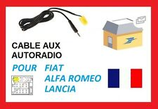 Fiat Grande Punto 500 to Mini Jack 3.5mm AUX IN Input Adapter for MP3 SmartPhone