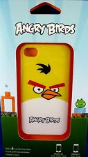 NEW & SEALED Gear4 iPhone 4 Cover ANGRY BIRDS YELLOW BIDS Collectable - In Aust