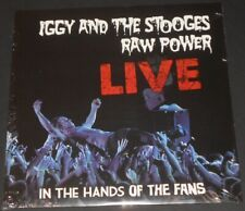 IGGY AND THE STOOGES raw power live in the hands of the fans USA LP new sealed